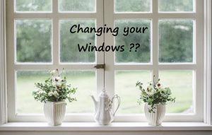 Permits for construction and changing windows