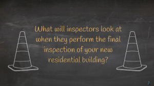 What do inspectors look in new homes ?